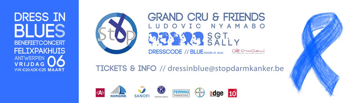 Dress in Blue(s) benefietconcert