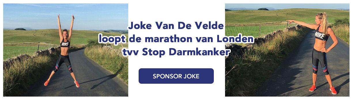 Joke Van De Velde, Stop Darmkanker, marathon Londen
