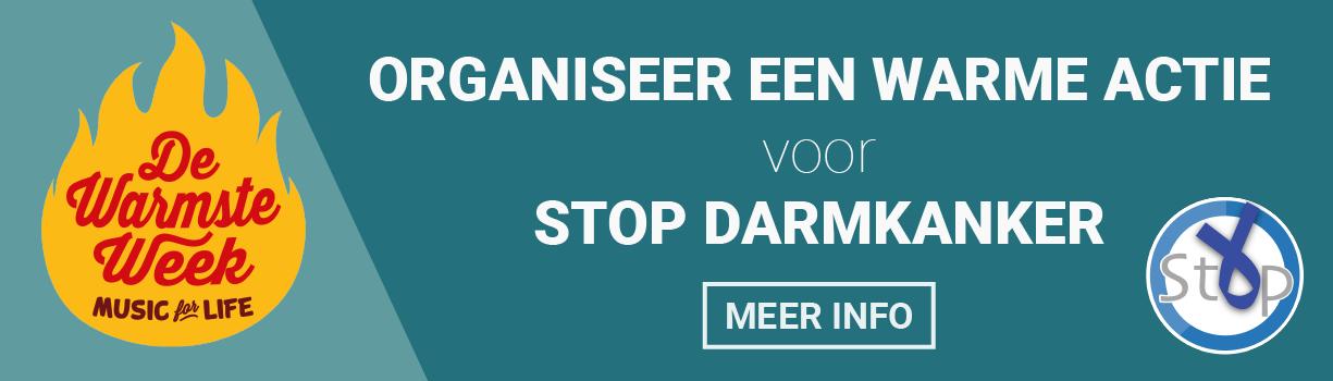 Steun Stop Darmkanker tijdens de Warmste Week